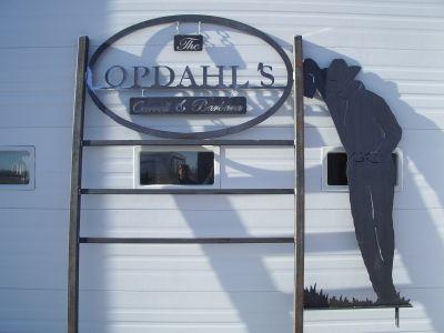 Opdahl sign